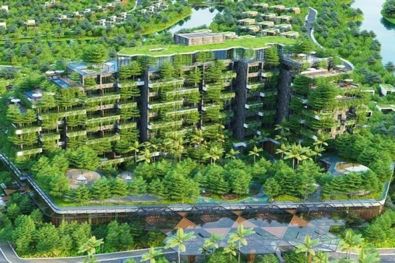 Phát triển công trình xanh và định hướng kiến trúc Việt Nam