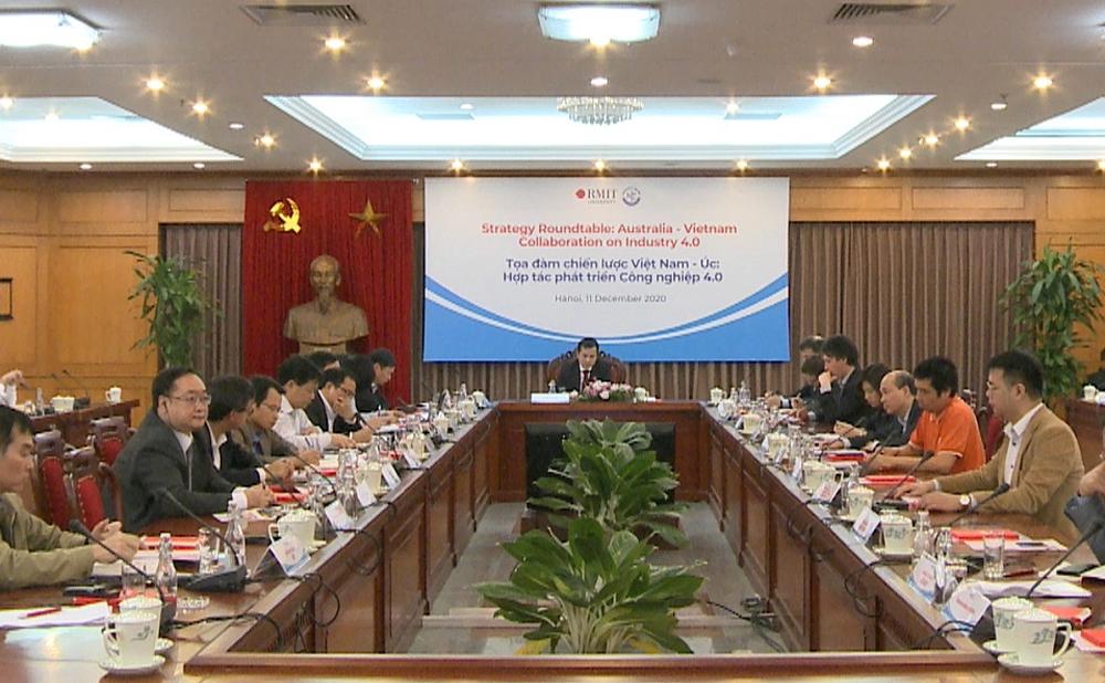 Tọa đàm chiến lược Việt Nam và Úc về hợp tác phát triển Công nghiệp 4.0