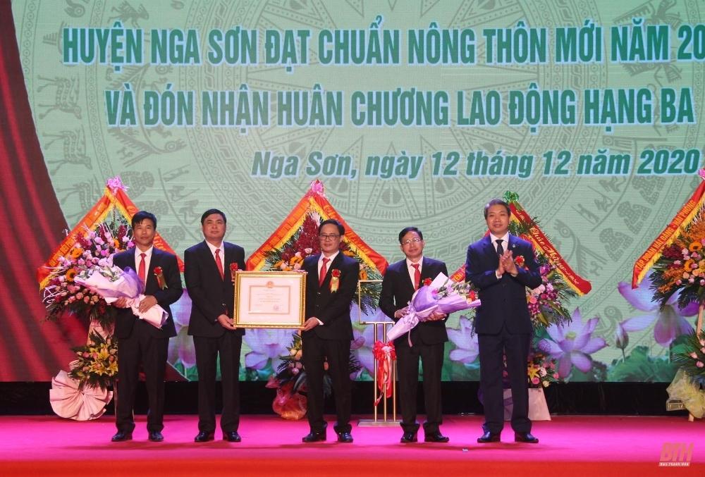 Thanh Hóa: Huyện Nga Sơn chính thức về đích Nông thôn mới
