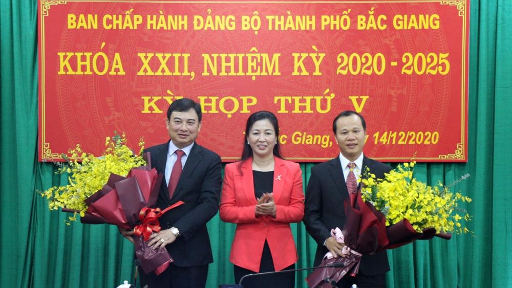 Đồng chí Vũ Trí Hải được bầu giữ chức Bí thư Thành Ủy Bắc Giang