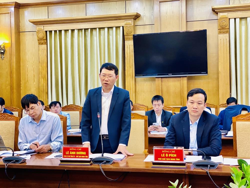 Chủ tịch UBND tỉnh Bắc Giang Lê Ánh Dương: Khắc phục, xử lý nghiêm Kết luận Thanh tra về công tác quản lý sử dụng đất đai, đầu tư xây dựng