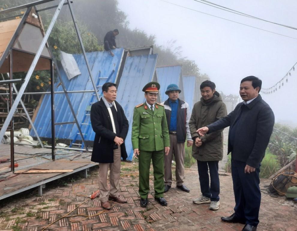Vĩnh Phúc: Huyện Tam Đảo tiếp tục tháo dỡ nhiều công trình xây dựng trái phép