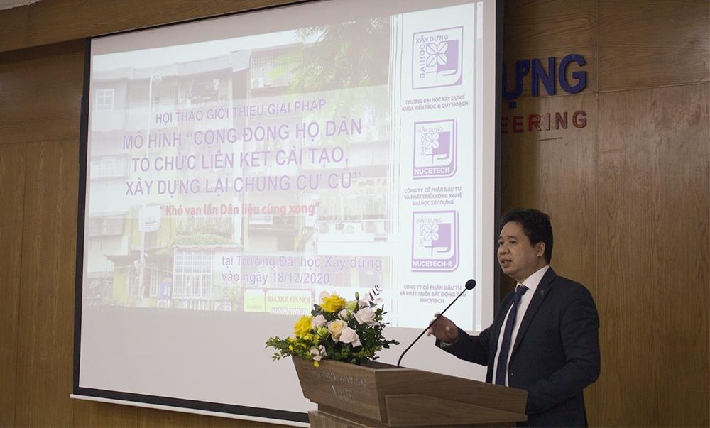 Mô hình Cộng đồng hộ dân tổ chức liên kết – Giải pháp mới cải tạo chung cư cũ