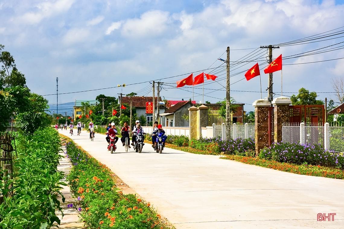 Phấn đấu đến năm 2025, Hà Tĩnh đạt chuẩn nông thôn mới