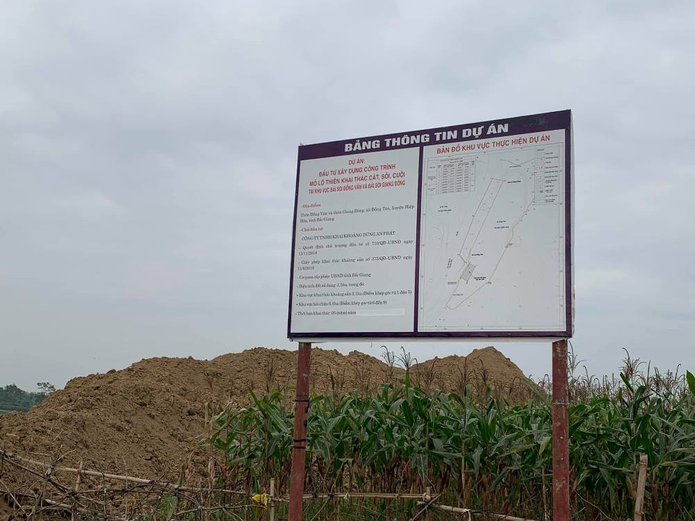 Công ty Dũng An Phát phản hồi về dự án khai thác cát, sỏi tại xã Đồng Tân