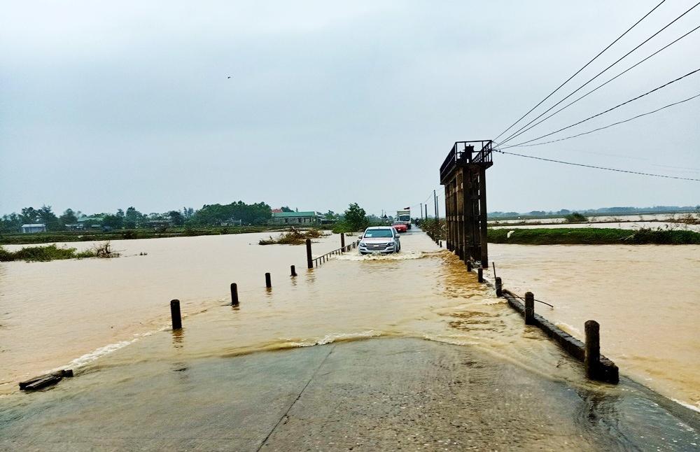 Quảng Trị: Nỗi lo qua đập Thái Lai khi mùa mưa lũ