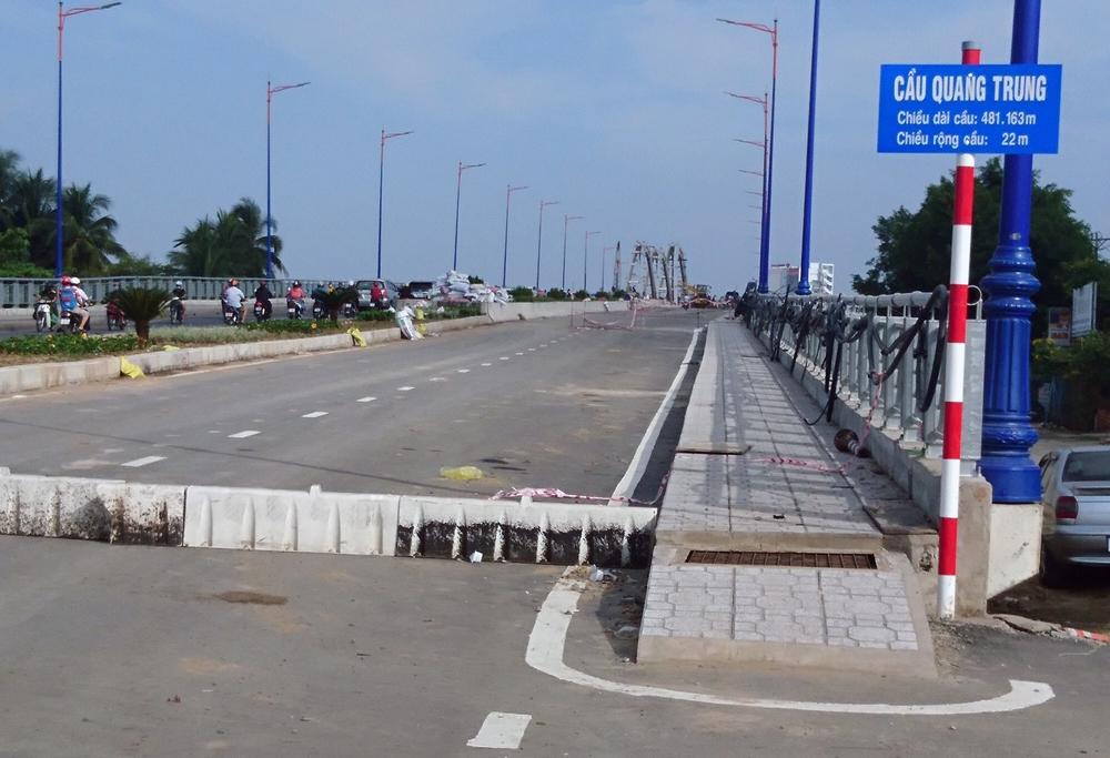 Cần Thơ: Sẽ tổ chức thông xe cầu Quang Trung vào ngày 31/12