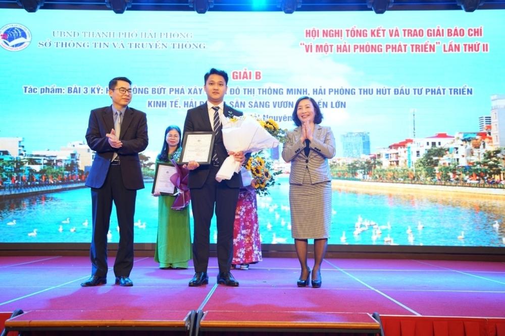 Báo Xây dựng vinh dự đạt 2 giải báo chí thành phố Hải Phòng năm 2020