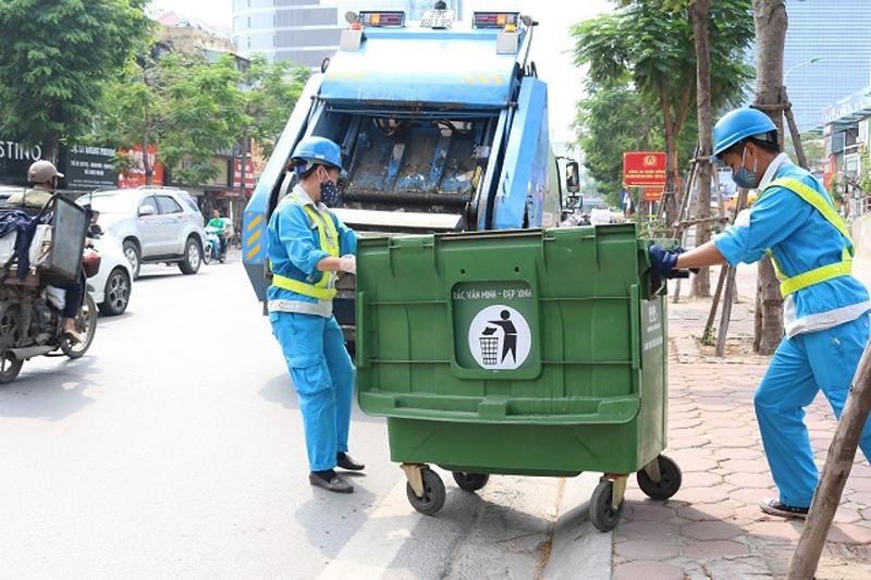 Urenco triển khai công tác vệ sinh môi trường quận Nam Từ Liêm từ ngày 01/01/2021