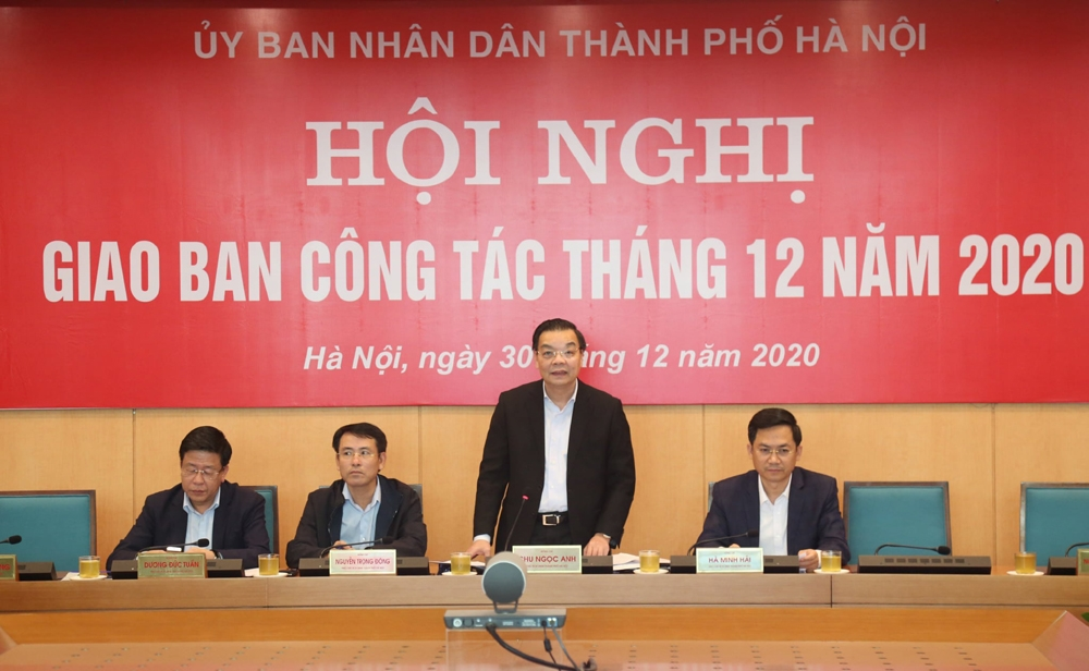 Hà Nội: Đảm bảo cho nhân dân đón Tết an toàn tuyệt đối trước dịch Covid-19