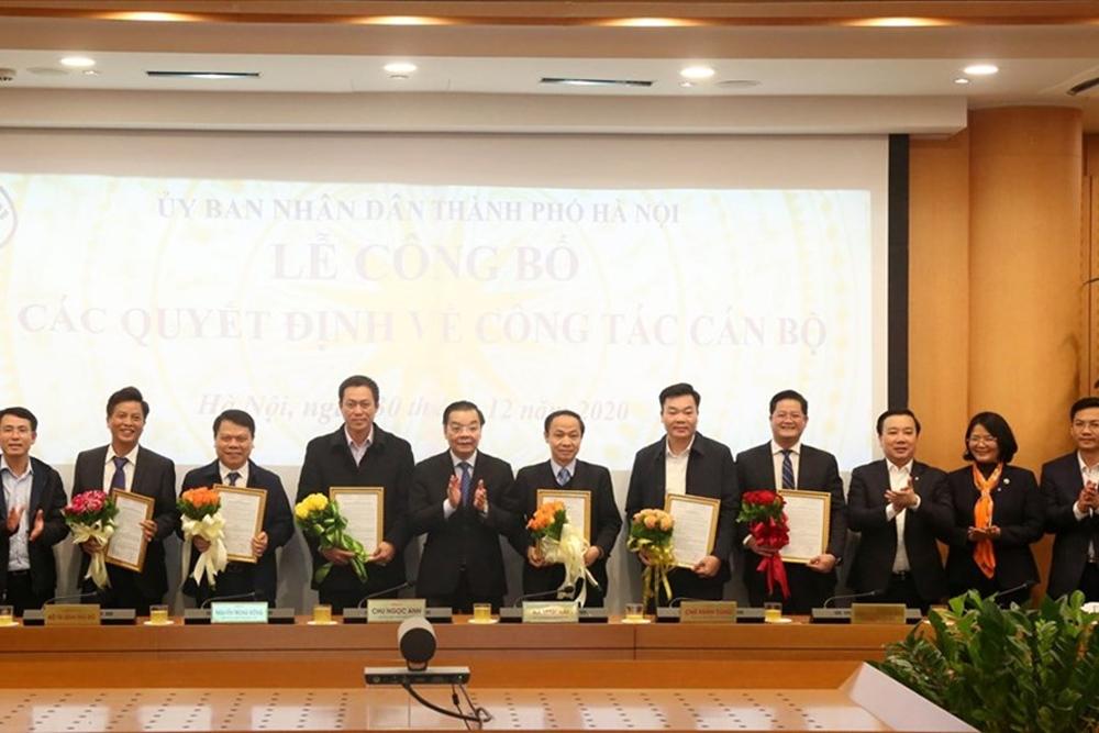 Hà Nội: Công bố các quyết định về công tác cán bộ