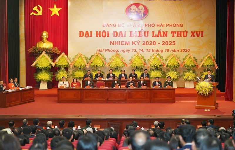 Hải Phòng: Phát động phong trào thi đua thực hiện thắng lợi Nghị quyết Đại hội Đảng bộ thành phố lần thứ XVI