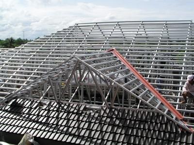 Giải pháp giàn mái bằng thép hợp kim