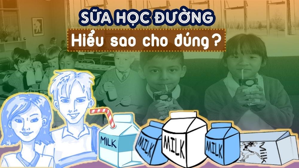 Sữa học đường - Hiểu sao cho đúng?