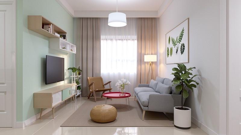 Ghé thăm căn hộ màu sắc ngọt ngào của đôi vợ chồng trẻ