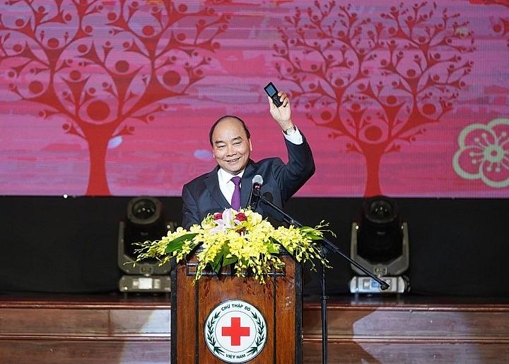 thu tuong nguyen xuan phuc tham du chuong trinh suc manh nhan dao 2020 tet vi nguoi ngheo va nan nhan chat doc da cam 271683