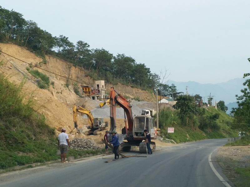 Cần xử lý dứt điểm sai phạm tại điểm mỏ Mường Ảng 4