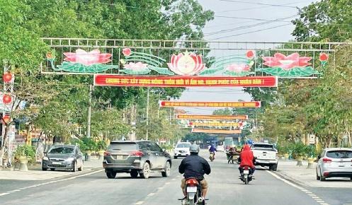 Vĩnh Lộc (Thanh Hóa): Xuân về trên huyện nông thôn mới