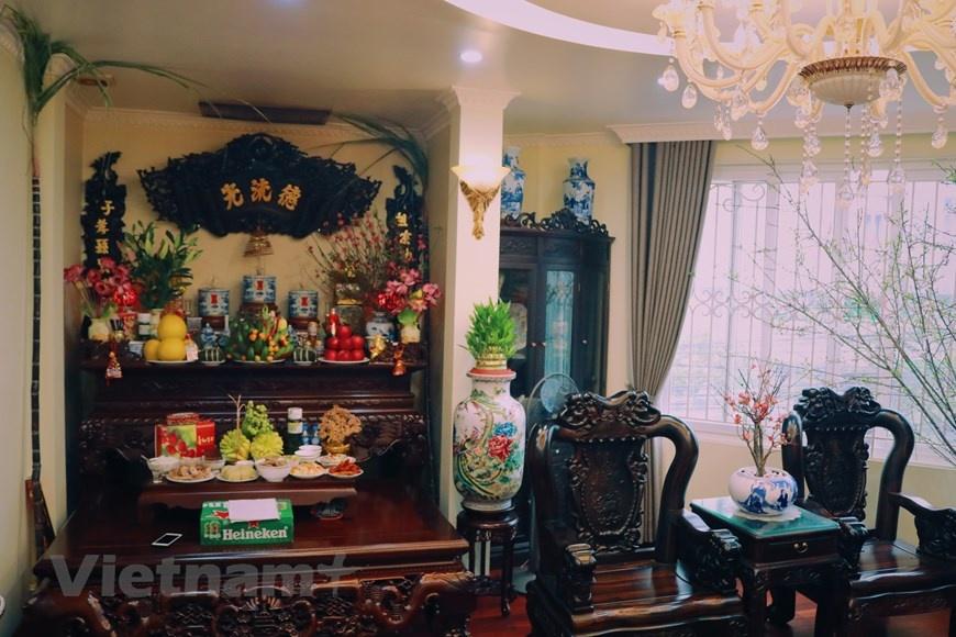 Lễ cúng tất niên của một gia đình Hà Nội