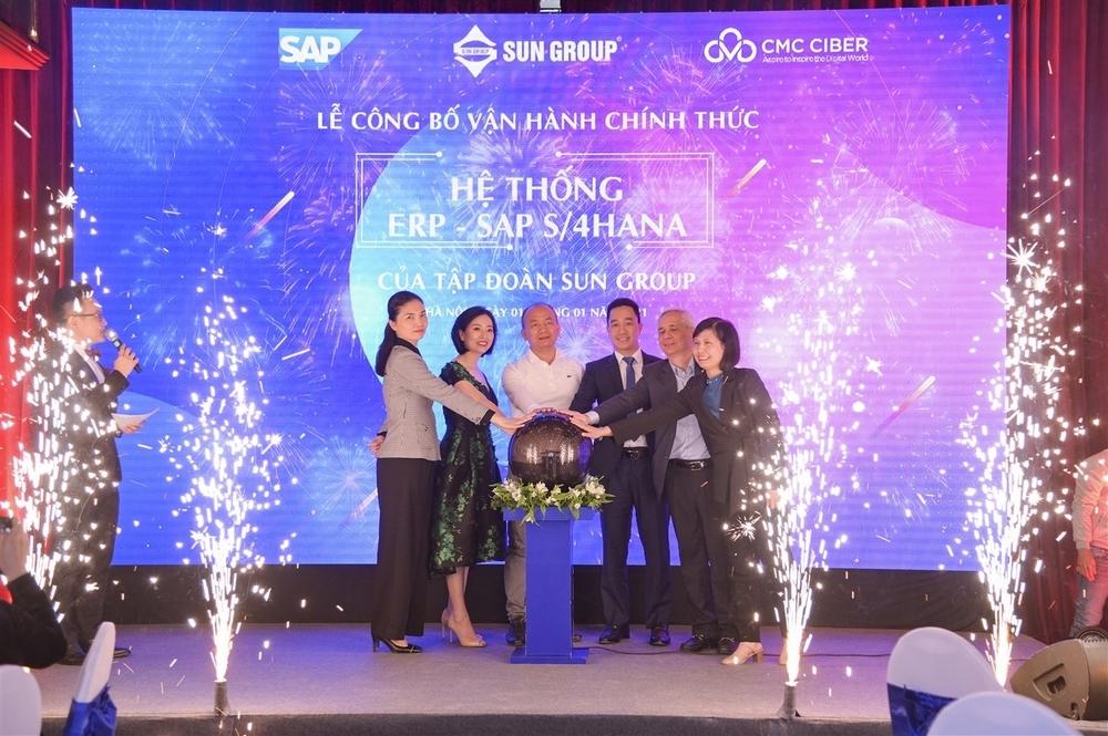Sun Group chính thức vận hành hệ thống quản trị SAP