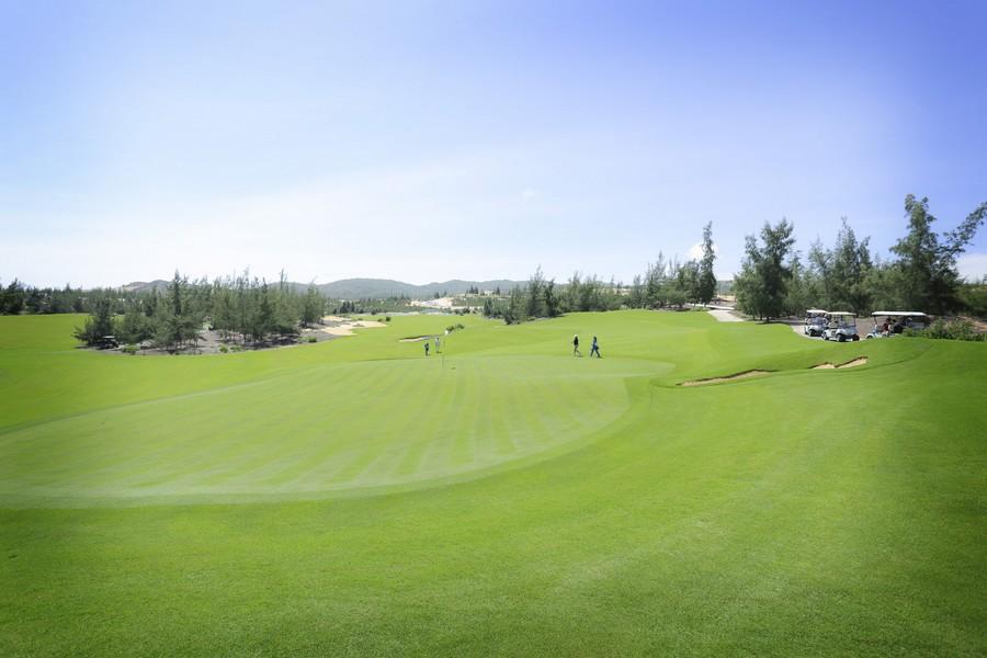 FLC Golf Championship 2017 ấn tượng với sân đấu đặc biệt