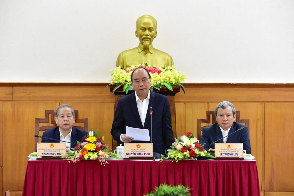Thủ tướng Chính phủ Nguyễn Xuân Phúc  làm việc với tỉnh Thừa Thiên - Huế