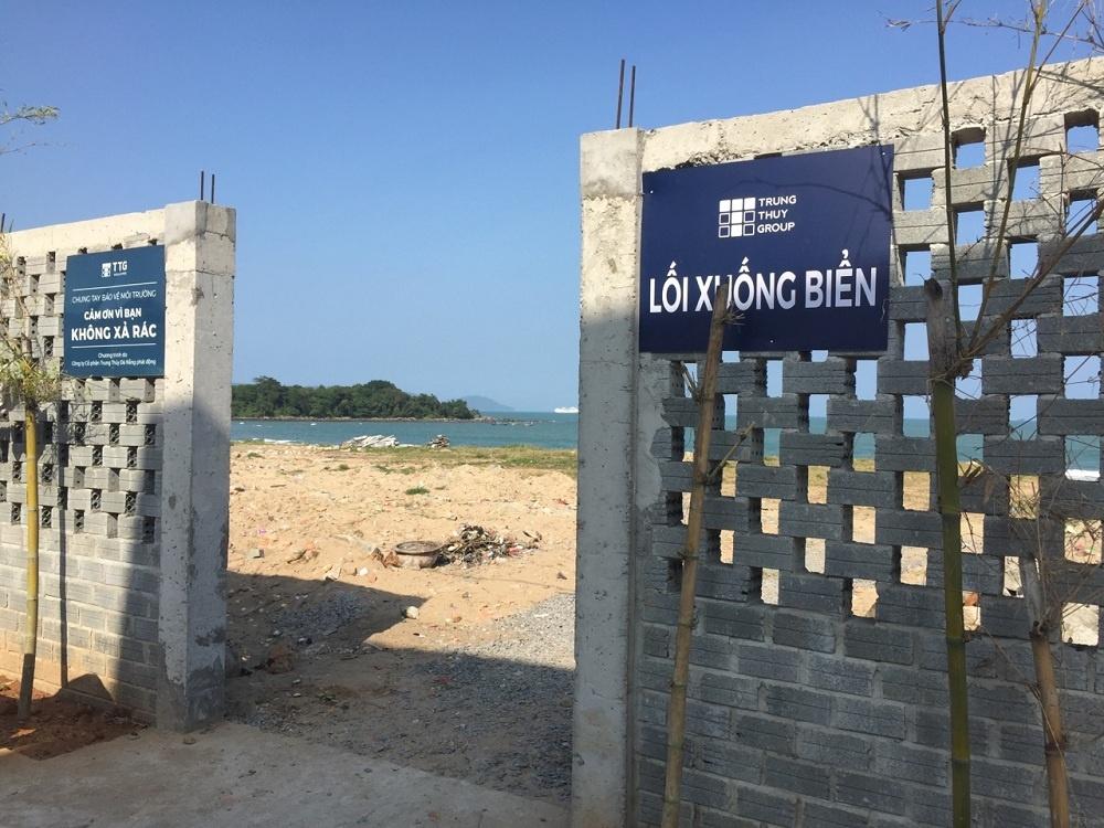 Công ty Cổ phần Trung Thủy gấp rút triển khai dự án Khu du lịch sinh thái Nam Ô