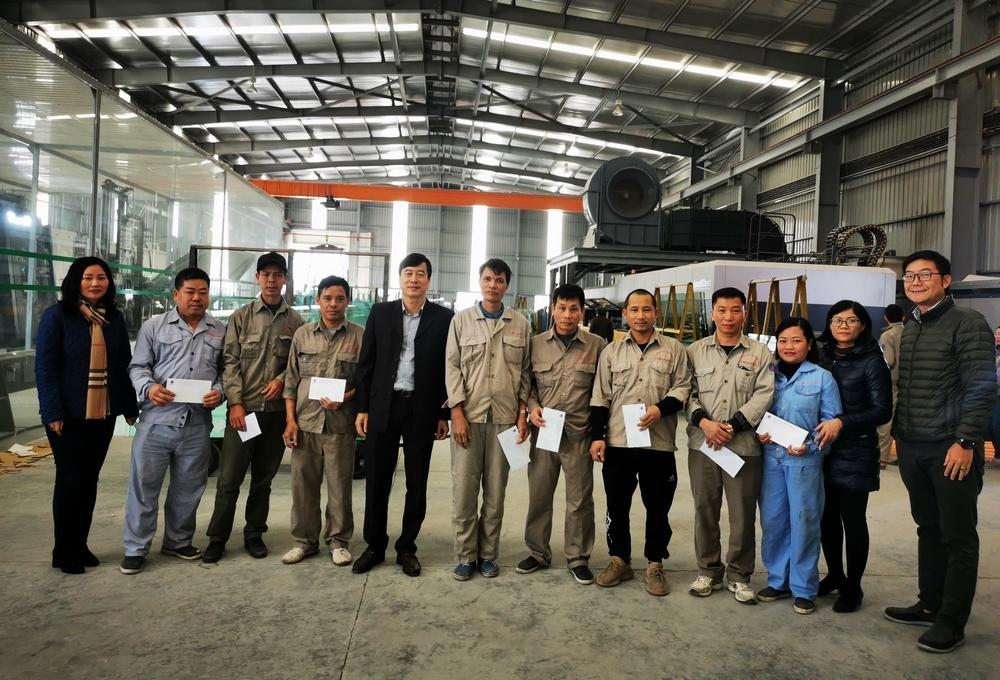Công đoàn Tổng công ty Viglacera - CTCP: Đảm bảo đầy đủ chế độ cho người lao động