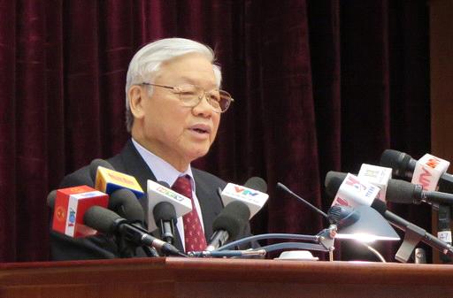 Tổng Bí thư: Cần tạo chuyển biến rõ rệt trong công tác xây dựng Đảng