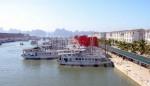 Tàu trọng tải 48 khách bị đắm trong âu cảng quốc tế Tuần Châu