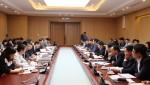 Bộ trưởng Phạm Hồng Hà làm việc với Hiệp hội các nhà thầu Việt Nam