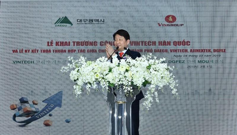 Thị trưởng thành phố Daegu, Hàn Quốc: