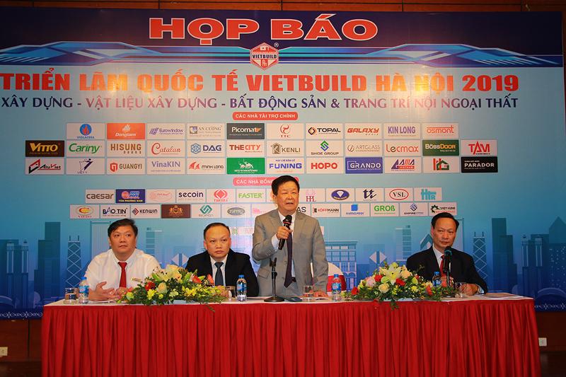 Triển lãm VIETBUILD Hà Nội 2019 lần thứ nhất thu hút hơn 1.600 gian hàng từ 18 quốc gia