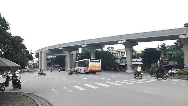 Chuẩn bị công trường thi công phần hộp ga S12 tuyến metro Nhổn - ga Hà Nội
