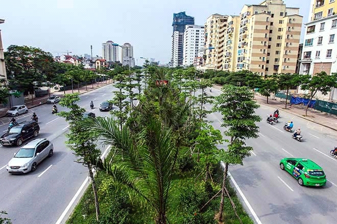 Hà Nội tăng cường không gian xanh cho đô thị