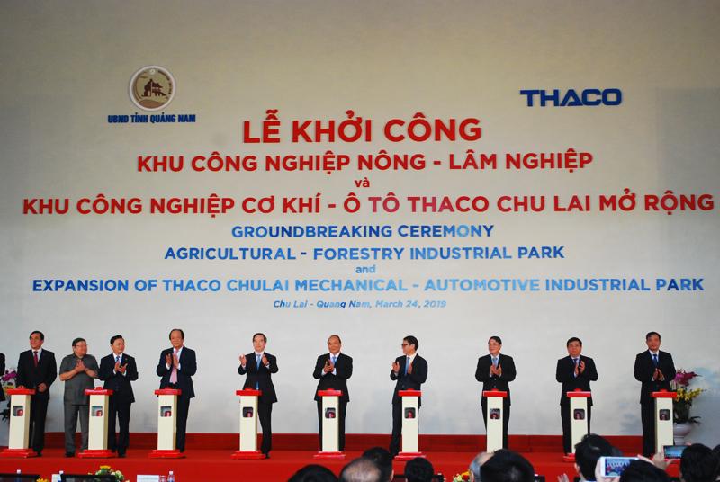 THACO khởi công hai dự án cơ khí – Ôtô – nông – lâm nghiệp với vốn đầu tư hơn 9.000 tỷ đồng