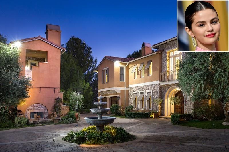 Ngất ngây với vẻ cổ điển trong căn biệt thự triệu đô của Selena Gomez