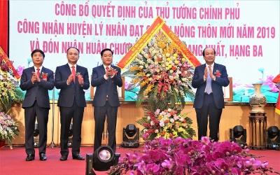 Lý Nhân, Hà Nam: Mùa xuân đổi mới