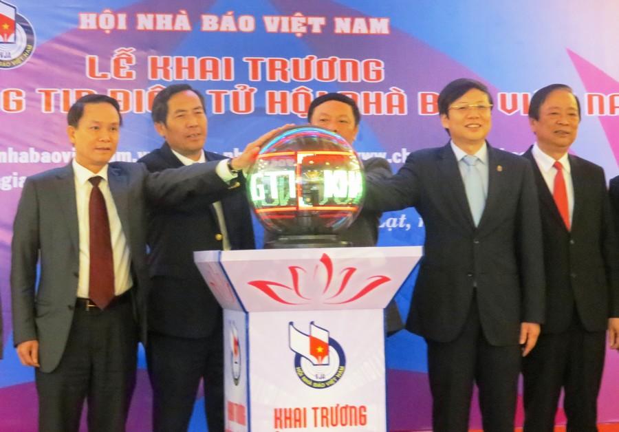 Hội Nhà báo Việt Nam có thêm thiết chế thông tin quan trọng