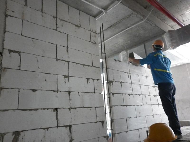 Sử dụng vật liệu xây không nung: Các vấn đề thường gặp khi thi công