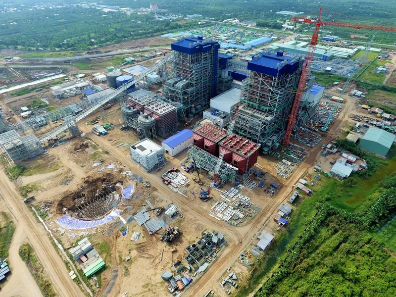 Dự án Nhà máy nhiệt điện Sông Hậu 1: Triển khai thi công đồng loạt nhiều hạng mục