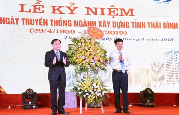 Kỷ niệm 60 năm ngày truyền thống ngành Xây dựng Thái Bình