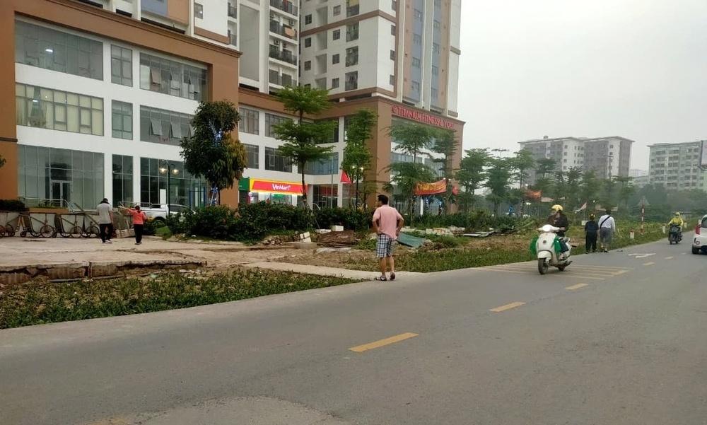 Hà Nội: UBND huyện Thanh Trì yêu cầu xử lý lối đi trái phép vào đường gom cao tốc Pháp Vân – Cầu Giẽ