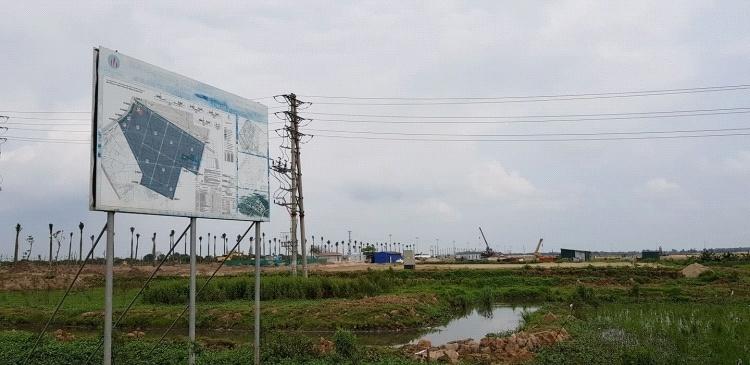 Hưng Yên xử phạt hàng loạt doanh nghiệp san lấp đất nông nghiệp trái phép