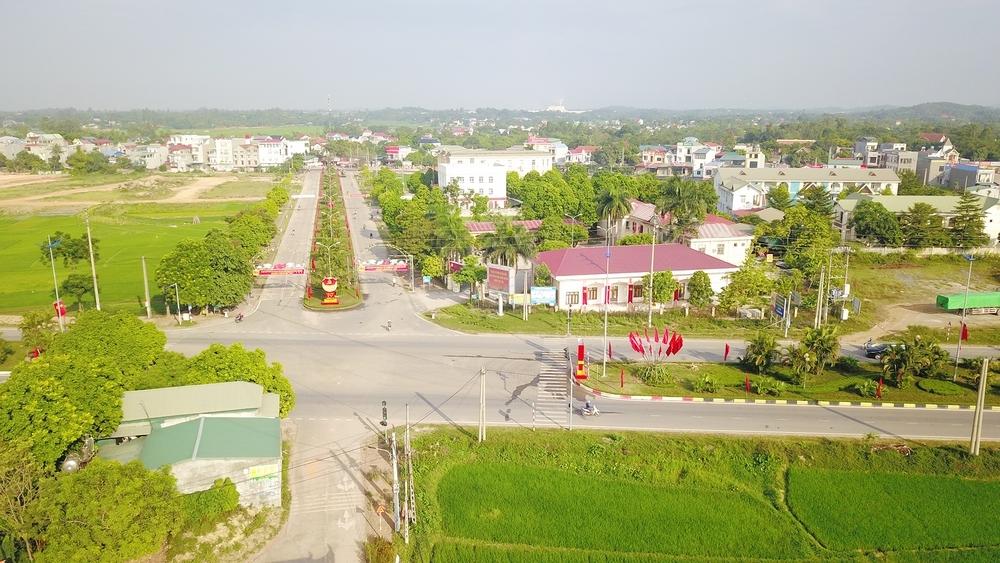 Thị trấn Hợp Châu, Vĩnh Phúc: Phát triển kinh tế, xây dựng đô thị