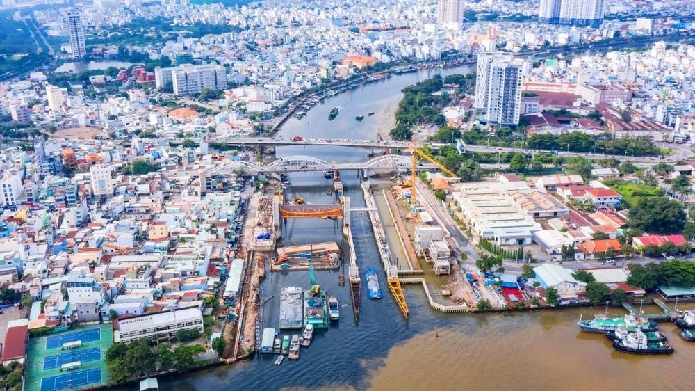 Dự án chống ngập do triều ở TP.HCM: Bao giờ phát huy hiệu quả?
