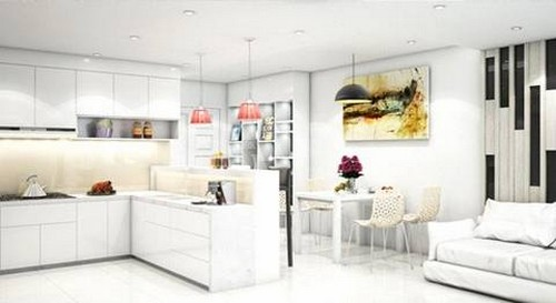 Ấn tượng độc đáo khi thiết kế nội thất với sắc trắng - www.TAICHINH2A.COM