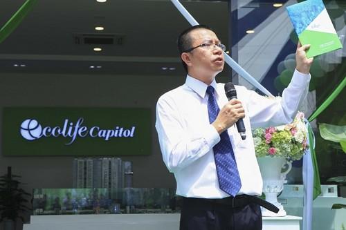 Ông Trần Như Trung – Phó TGĐ Công ty Cổ phần Đầu tư và Thương mại Thủ Đô (Capital House).