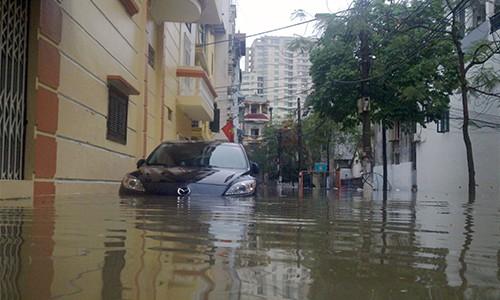 Ngập úng tại Hà Nội: Lỗi tại quy hoạch cốt nền đô thị?