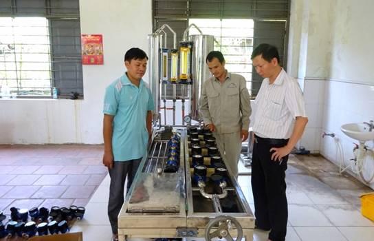 Công ty CP nước sạch Vĩnh Phúc: Đảm bảo cấp nước an toàn trong mùa hè